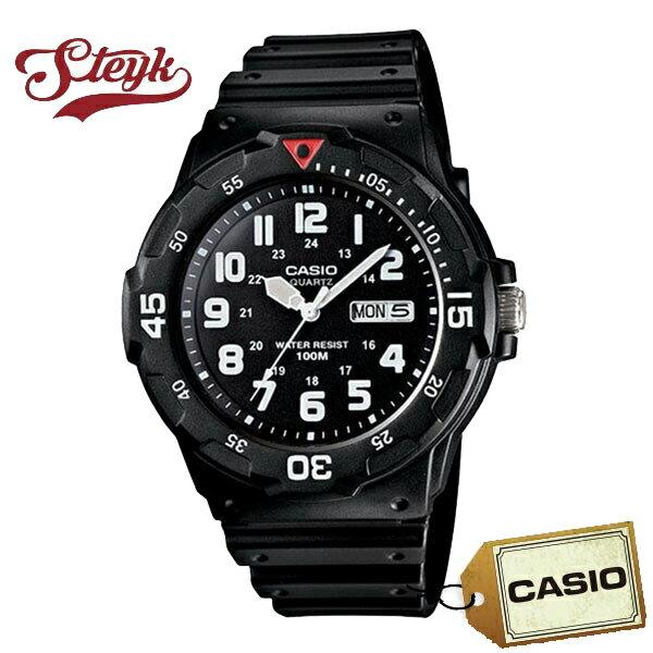 CASIO カシオ 腕時計 アナログ メンズ MRW-200H-1B 【メール便選択で送料200円】