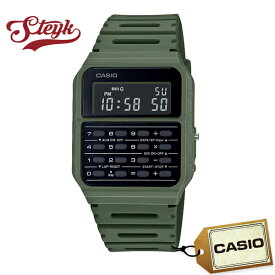 CASIO CA-53WF-3B カシオ 腕時計 デジタル Data Bank データバンク メンズ ブラック カーキ カジュアル
