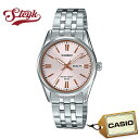CASIO LTP-1335D-4A カシオ 腕時計 アナログ スタンダード レディース ピンク シルバー カジュアル ビジネス