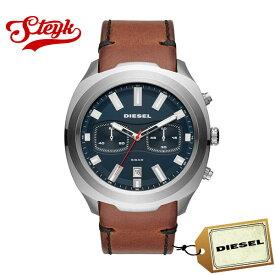 DIESEL DZ4508 ディーゼル 腕時計 アナログ TUMBLER タンブラー メンズ ブルー ブラウン シルバー ビジネス カジュアル