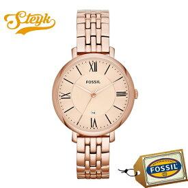 FOSSIL ES3435 フォッシル 腕時計 アナログ JACQUELINE ジャクリーン レディース ローズゴールド カジュアル