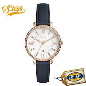 FOSSIL ES4291 フォッシル 腕時計 アナログ Jacqueline ジャクリーン レディース ホワイト ネイビー ゴールド カジュアル