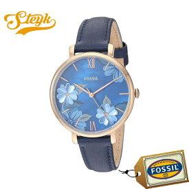 FOSSIL ES4673 フォッシル 腕時計 アナログ Jacqueline ジャクリーン レディース ブルー ネイビー カジュアル デート