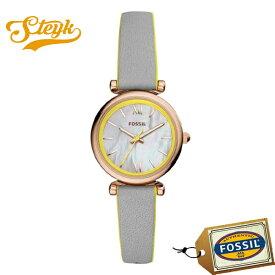 FOSSIL ES4834 フォッシル 腕時計 アナログ ミニ ジャクリーン MINI JACQUELINE レディース グロッシーホワイト グレー カジュアル