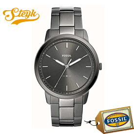 FOSSIL FS5459 フォッシル 腕時計 アナログ THE MINIMALIST メンズ グレー スモーク カジュアル