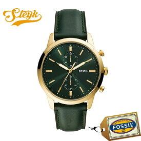 FOSSIL FS5599 フォッシル 腕時計 アナログ TOWNSMAN タウンズマン メンズ グリーン ビジネス カジュアル