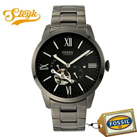 FOSSIL ME3172 フォッシル 腕時計 アナログ TOWNSMAN AUTO メンズ ブラック スモーク カジュアル