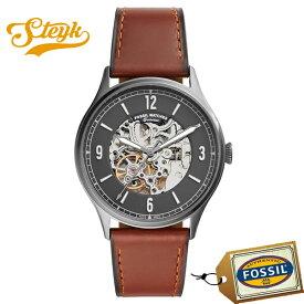 【15日23:59まで!店内ポイント最大36倍】FOSSIL ME3178 フォッシル 腕時計 アナログ Forrester メンズ ブラック ブラウン シルバー カジュアル