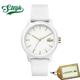 LACOSTE 2001063 ラコステ 腕時計 アナログ レディース ホワイト ゴールド カジュアル