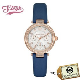 Michael Kors MK2915 マイケルコース 腕時計 アナログ PARKER レディース ホワイト ブルー カジュアル