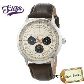Paul Smith P10002 ポールスミス 腕時計 アナログ プレシジョン PRECISION メンズ ベージュ ブラウン カジュアル