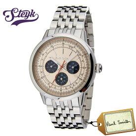 Paul Smith P10003 ポールスミス 腕時計 アナログ プレシジョン PRECISION メンズ ベージュ シルバー カジュアル