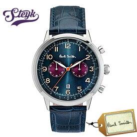 Paul Smith P10012 ポールスミス 腕時計 アナログ メンズ ブルー カジュアル