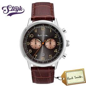 Paul Smith P10013 ポールスミス 腕時計 アナログ メンズ ブラウン カジュアル