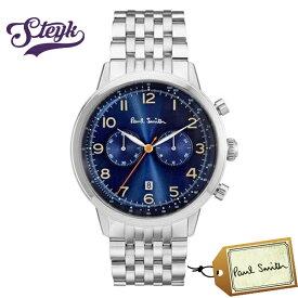 Paul Smith P10017 ポールスミス 腕時計 アナログ プレシジョン PRECISION メンズ ブルー シルバー カジュアル