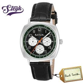 Paul Smith P10041 ポールスミス 腕時計 アナログ Atomic アトミック メンズ ブラック カジュアル