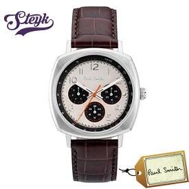 Paul Smith P10042 ポールスミス 腕時計 アナログ Atomic アトミック メンズ ブラウン ベージュ ダークグリーン カジュアル