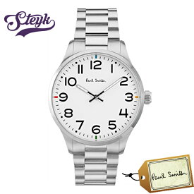 Paul Smith P10063 ポールスミス 腕時計 アナログ メンズ シルバー ホワイト カジュアル