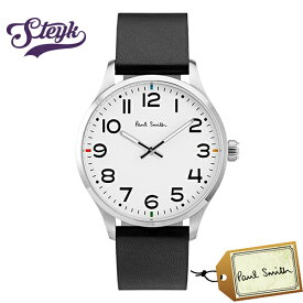 Paul Smith P10065 ポールスミス 腕時計 アナログ メンズ ブラック ホワイト カジュアル