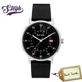 Paul Smith P10071 ポールスミス 腕時計 アナログ ゲージ GAUGE メンズ ブラック カジュアル