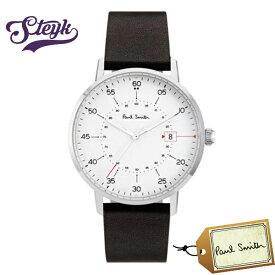 Paul Smith P10072 ポールスミス 腕時計 アナログ ゲージ GAUGE メンズ ホワイト チョコ カジュアル