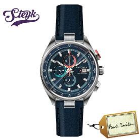 Paul Smith PS0110012 ポールスミス 腕時計 アナログ Chrono 44 メンズ ネイビー シルバー カジュアル