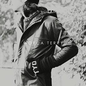 【 アフターセール 12月 】新タイプ【WORCA・TERRY】 本革 デザイナーズ ライダースジャケット メンズ 本革レザージャケット パーカー M・Lサイズ メンズ 革ジャン 皮ジャン バイカージャケット 細身タイト モード系 フード