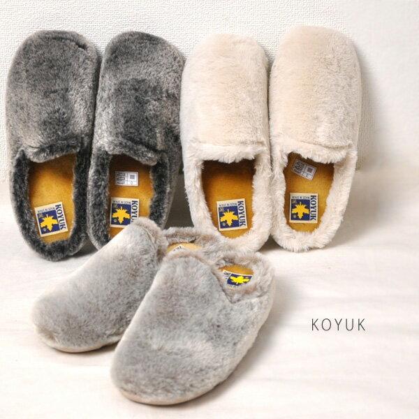 【PR2】30代〜40代ファッション ファー サボ サンダル 靴 レディース 歩きやすい サンダル KOYUK 38298 カヤック楽天カード分割