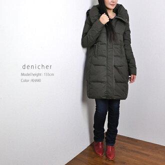denicher Danish wool toggle down coat TOJ-3059 Womens / outerwear / coat / wool / long / down