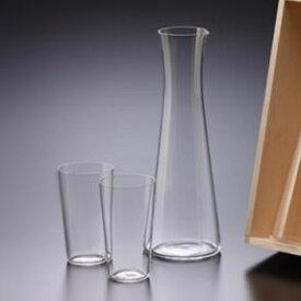 【松徳硝子】うすはりグラス・酒器揃・木箱付き