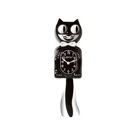 "【California Clock Company】Kit-cat Klock""Classic black""キットキャットクロック・クラシックブラック"