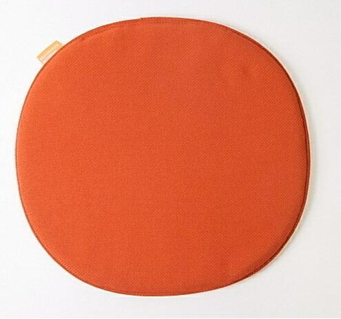 【Mid-Century MODERN】 オリジナルシートパッド NC-111ダークオレンジ 【イームズ シェルチェア セブンチェア アントチェア等にオススメ】