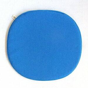 【Mid-Century MODERN】 オリジナルシートパッド NC-023 2トーンブルー 【イームズ シェルチェア セブンチェア アントチェア等にオススメ】