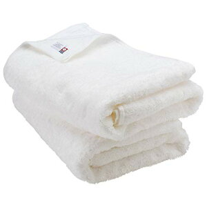 ブルーム 今治タオル レオン バスタオル 2枚セット サンホーキン綿 (ホワイト) leon_bt2_wh