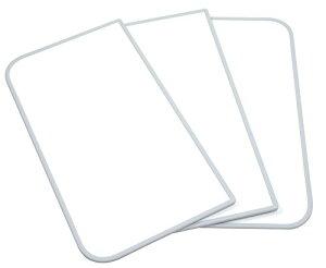 東プレ Ag抗菌 アルミ組合せ式風呂ふた (3枚割) L16 ホワイト/ホワイト 73×158cm