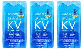 ドクターズファーマシー 南極クリルビタミン 120粒 × 3袋 【オキア抽出物+ビタミン類含有加工食品】