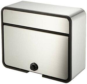 グリーンライフ(GREEN LIFE) 郵便ポスト ステンレスポスト ダイヤル錠 A4封筒が入る 17.0×31.0×39.0cm PH-58PD