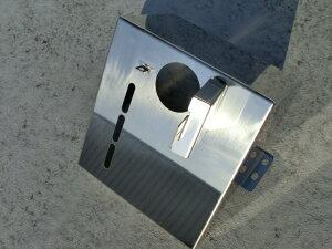 ふそう2t ブルーテックキャンター 尿素ボックスカバー(AdBLue) 鏡面/ウロコ