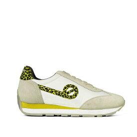 [50%OFF]NO NAME[ノーネーム][スニーカー]CITY RUN(シティーラン)-92106-OFF WHITE[オフホワイト] レディース 靴 シューズ スニーカー ローテク マラソン レザー スエード インポート ホワイト グリーン ヒョウ柄