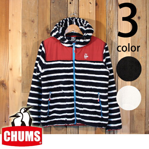 チャムス CHUMS フリース エルモ フーディ ジャケット CH04-1123