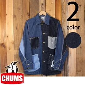 チャムス CHUMS x Lee プレイ ロコ ジャケット ワーク カバーオール デニム 35周年 アニバーサリー CH04-1131