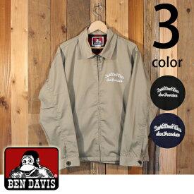 ベンデイビス BEN DAVIS ワンポイント 刺繍 T/C ツイル ワーク ジャケット G-8780019