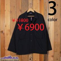 サウザンドマイルTHOUSANDMILEナイロンCPOジャケットシャツ中綿キルティングセールTM192NP11501