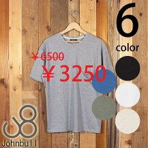 ジョンブルJohnbullクラシックポケットTシャツクルーネック丸首半袖オーガニックコットン25082