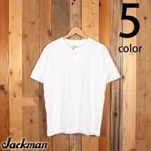 ジャックマンJackman半袖ヘンリーネックTシャツJM5713