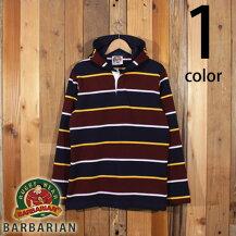 バーバリアンBARBARIANStockmanMarket別注モデルラガーシャツパーカーフードリアン2020modelST-2002