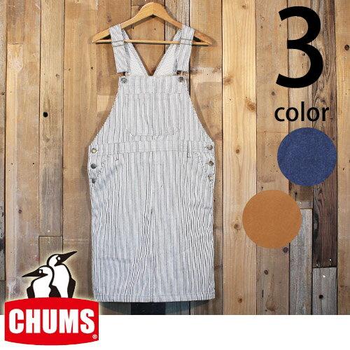 チャムス CHUMS レディース ハリケーン サロペット スカート CH18-1018