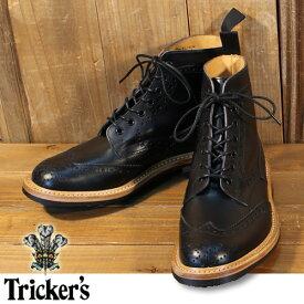 トリッカーズ Tricker's カントリー 別注 ブラック M2508