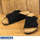 ビルケンシュトックBIRKENSTOCKチューリッヒZURICHブラックスエードSchwarz(Velours)050491