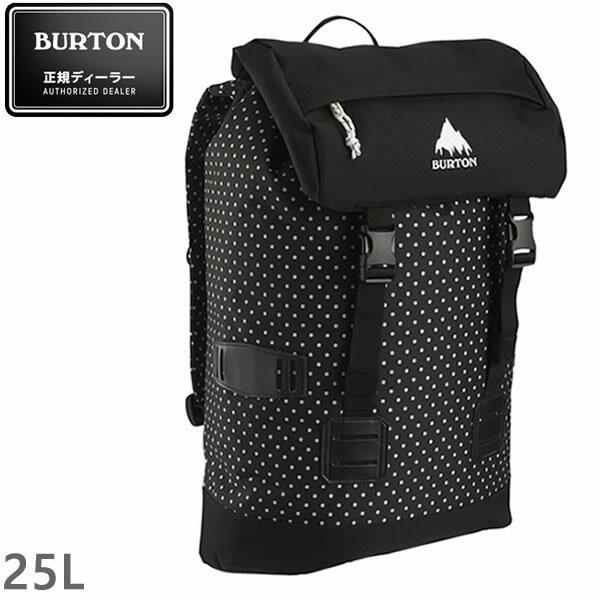 処分価格 BURTON(バートン) リュック バックパック TINDER PACK 25L BLACK POLKA DOT (16337101103) バッグ【s0】